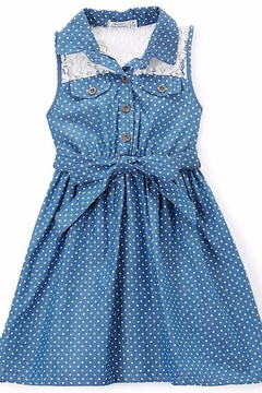 No Name Cute Jean Dress - Product List Image