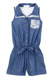 No Name Denim Girls Romper - Product Mini Image