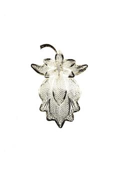 Shoptiques Product: Flower Silver Brooch