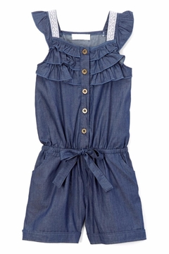 No Name Girl's Denim Romper - Product List Image
