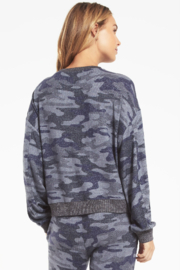 z supply Noa Camo Marled Top - Side cropped