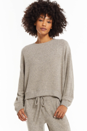 z supply Noa Marled Top - Front cropped
