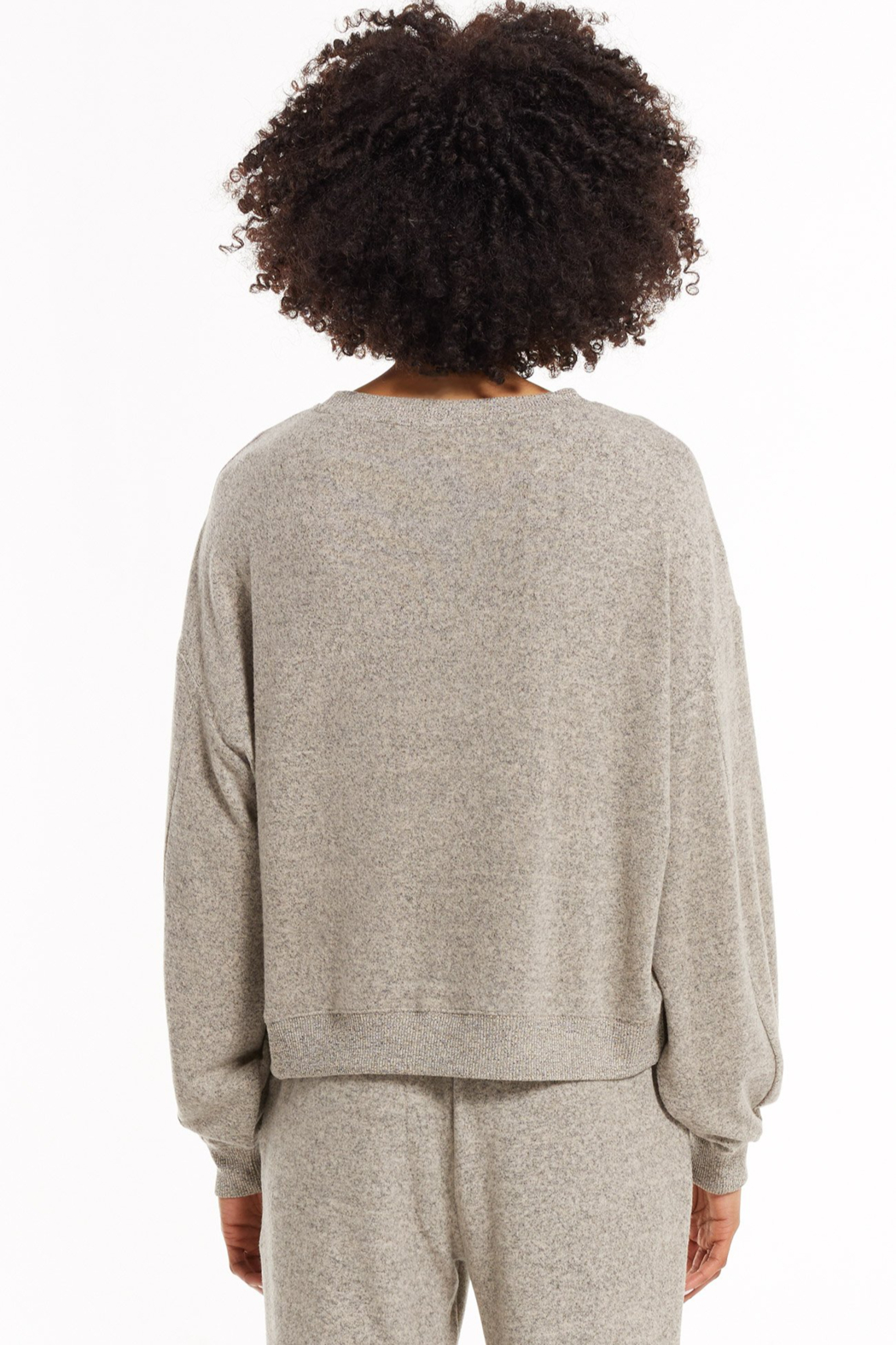 z supply Noa Marled Top - Side Cropped Image