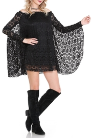 Noa Elle Black Lace Tunic - Product Mini Image