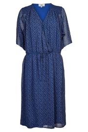 Noa Noa Blue Chiffon Dress - Product Mini Image