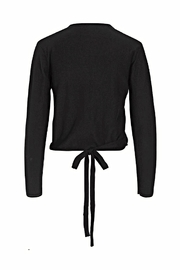Noa Noa Cotton Cashmere Wrap Top - Front full body