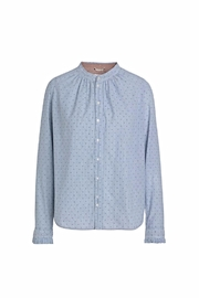 Noa Noa Cotton Dobby Blouse - Product Mini Image