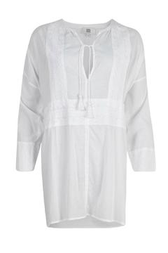 Shoptiques Product: Cotton Embroidered Tunic
