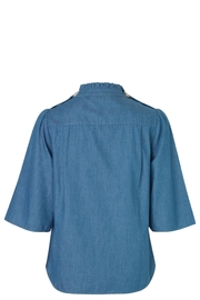 Noa Noa Denim Shirt - Front full body