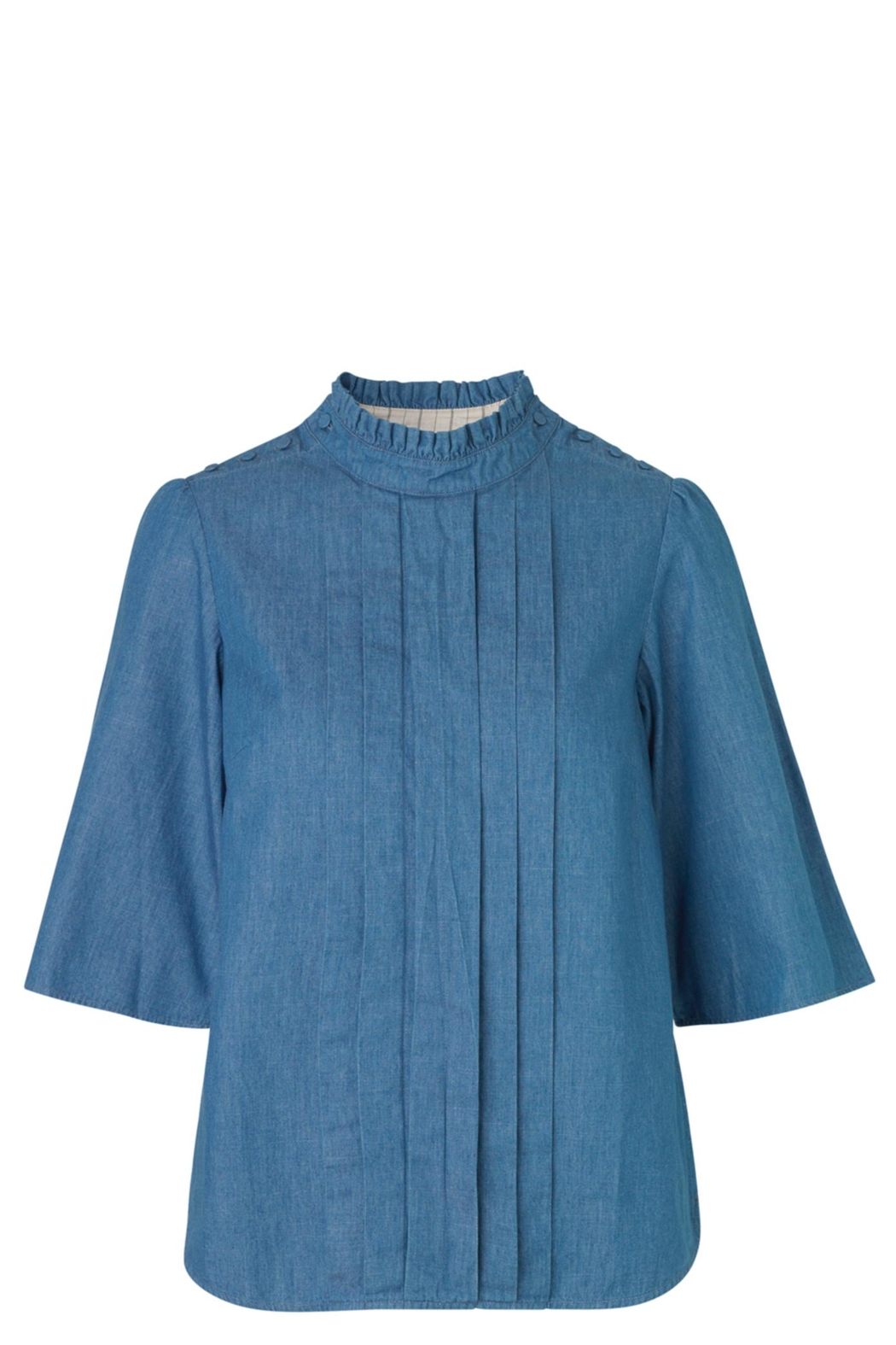 Noa Noa Denim Shirt - Front Cropped Image