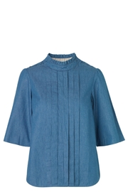 Noa Noa Denim Shirt - Front cropped