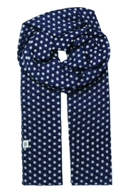 Noa Noa Dotted Cotton Scarf - Front cropped