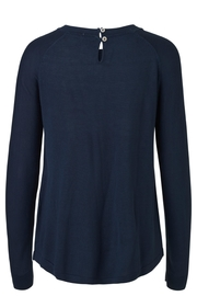 Noa Noa Navy Sweater - Front full body