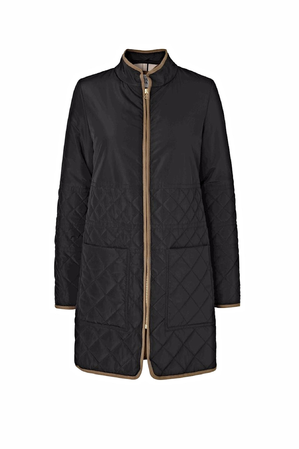 Noa Noa Quilted Coat - Front Cropped Image
