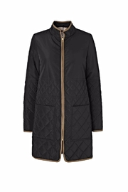 Noa Noa Quilted Coat - Front cropped