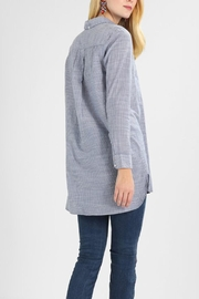 Noa Noa Striped Long Blouse - Front full body
