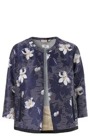Noa Noa Stunning Floral Jacket - Front cropped