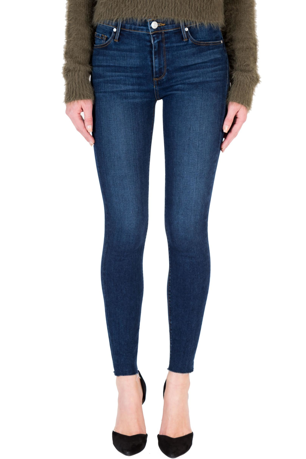 Black Orchid Denim Noah Ankle Fray - Front Cropped Image
