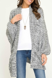 She + Sky Noah Open Cardigan - Product Mini Image