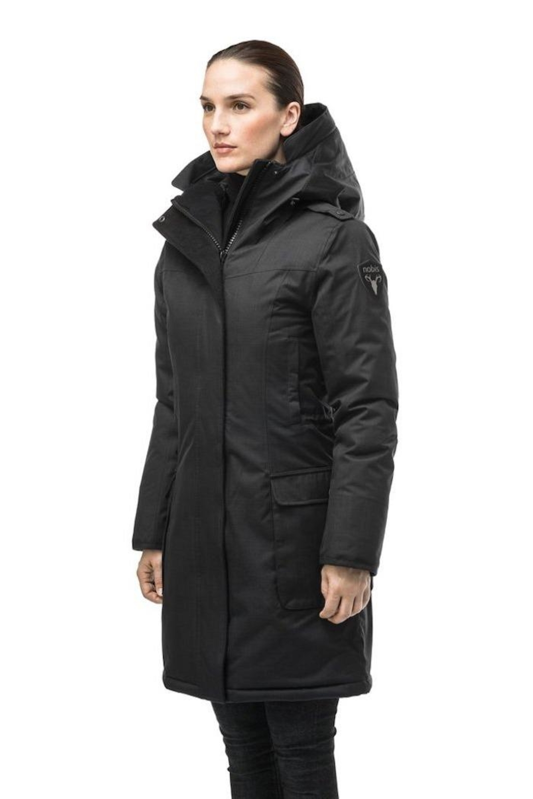Nobis Abby Down Jacket - Back Cropped Image