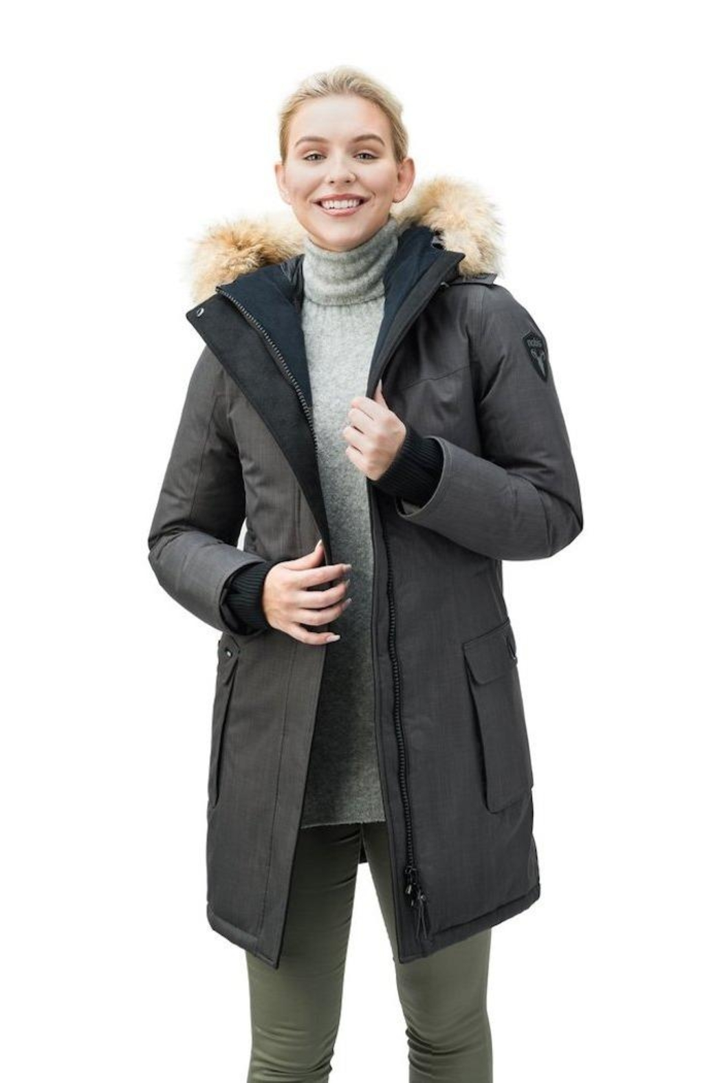 Nobis Abby Down Parka - Side Cropped Image