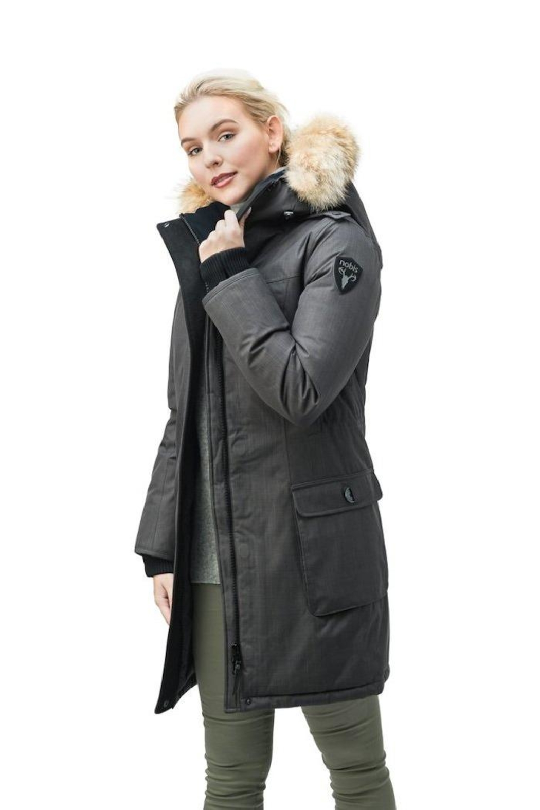 Nobis Abby Down Parka - Front Full Image