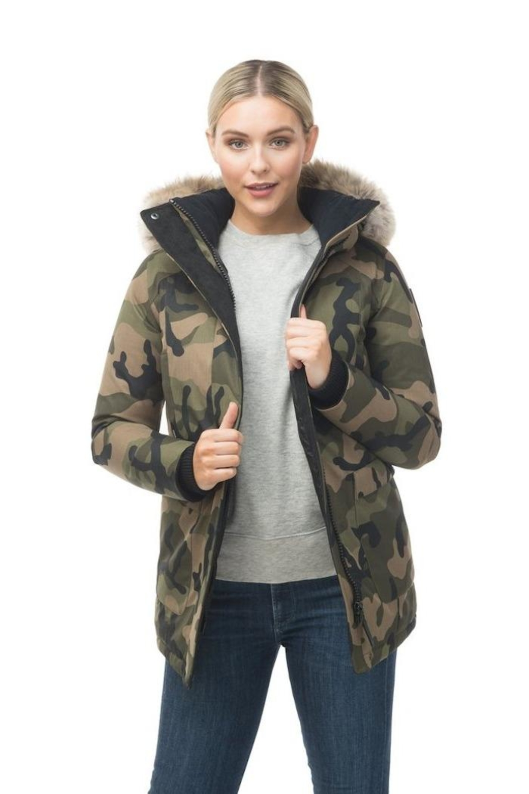 Nobis Carla Down Parka - Front Full Image