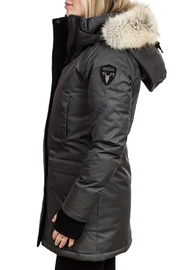 Nobis Carla Ladies Parka - Front full body