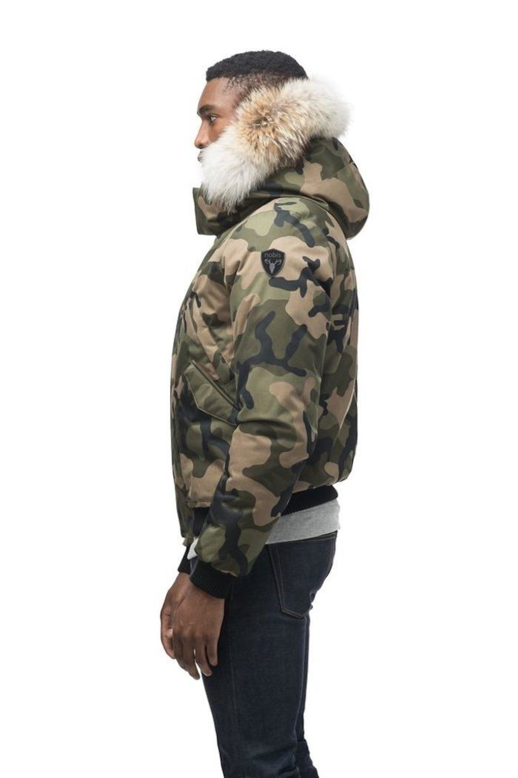 Nobis Dylan Down Jacket - Back Cropped Image