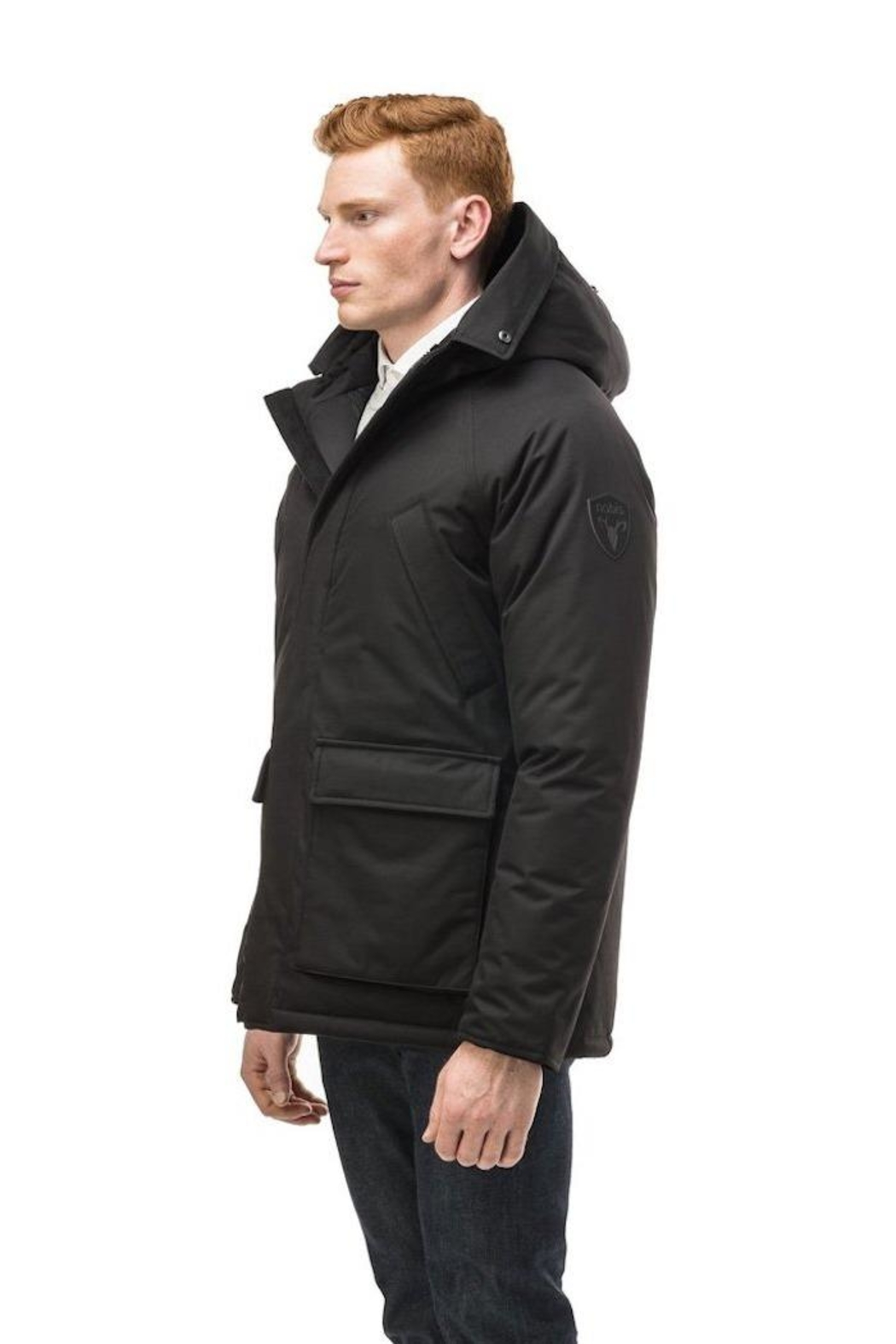 Nobis Heritage Down Jacket - Back Cropped Image
