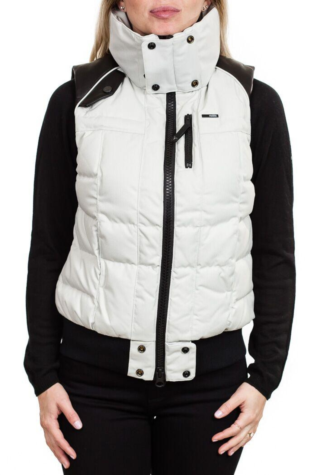Nobis Meego Down Vest - Front Cropped Image