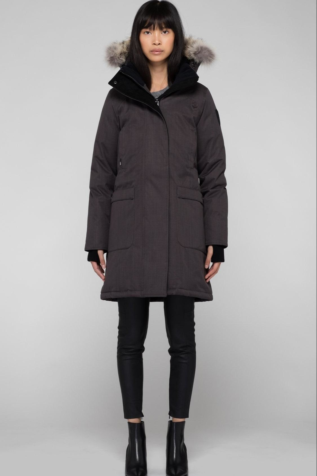 Nobis Merideth Down Parka - Front Cropped Image