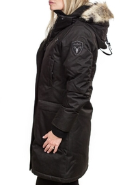 Nobis Merideth Ladies Parka - Front full body