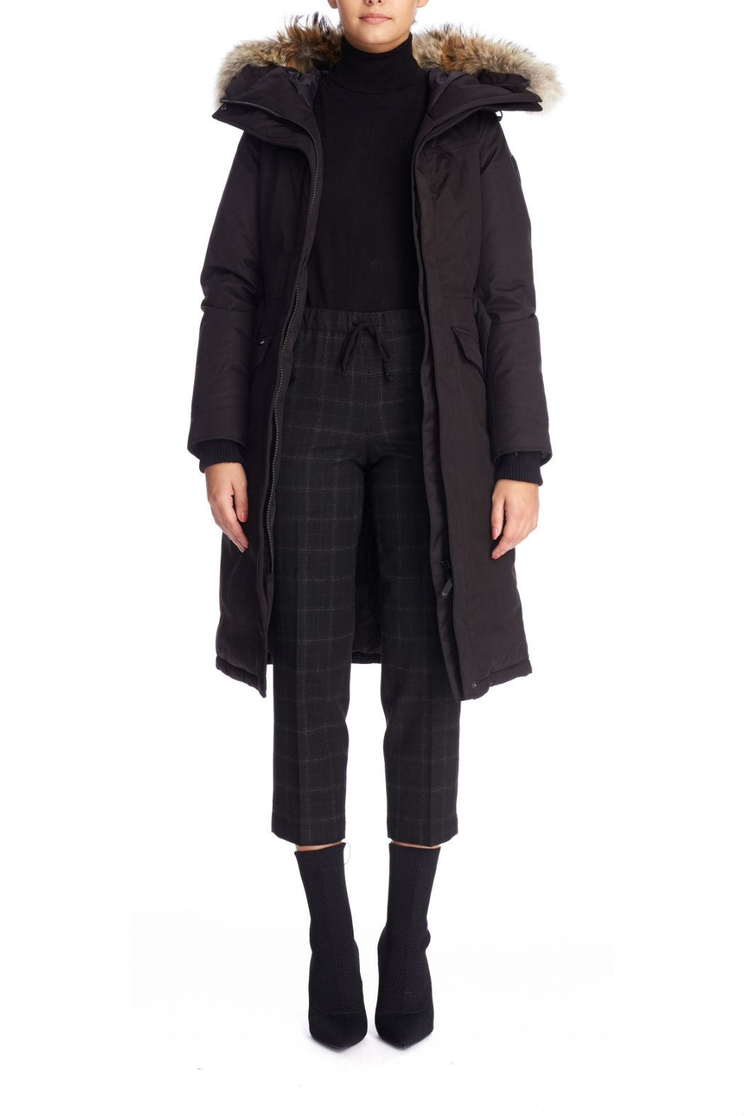 Nobis Morgan Down Coat - Back Cropped Image