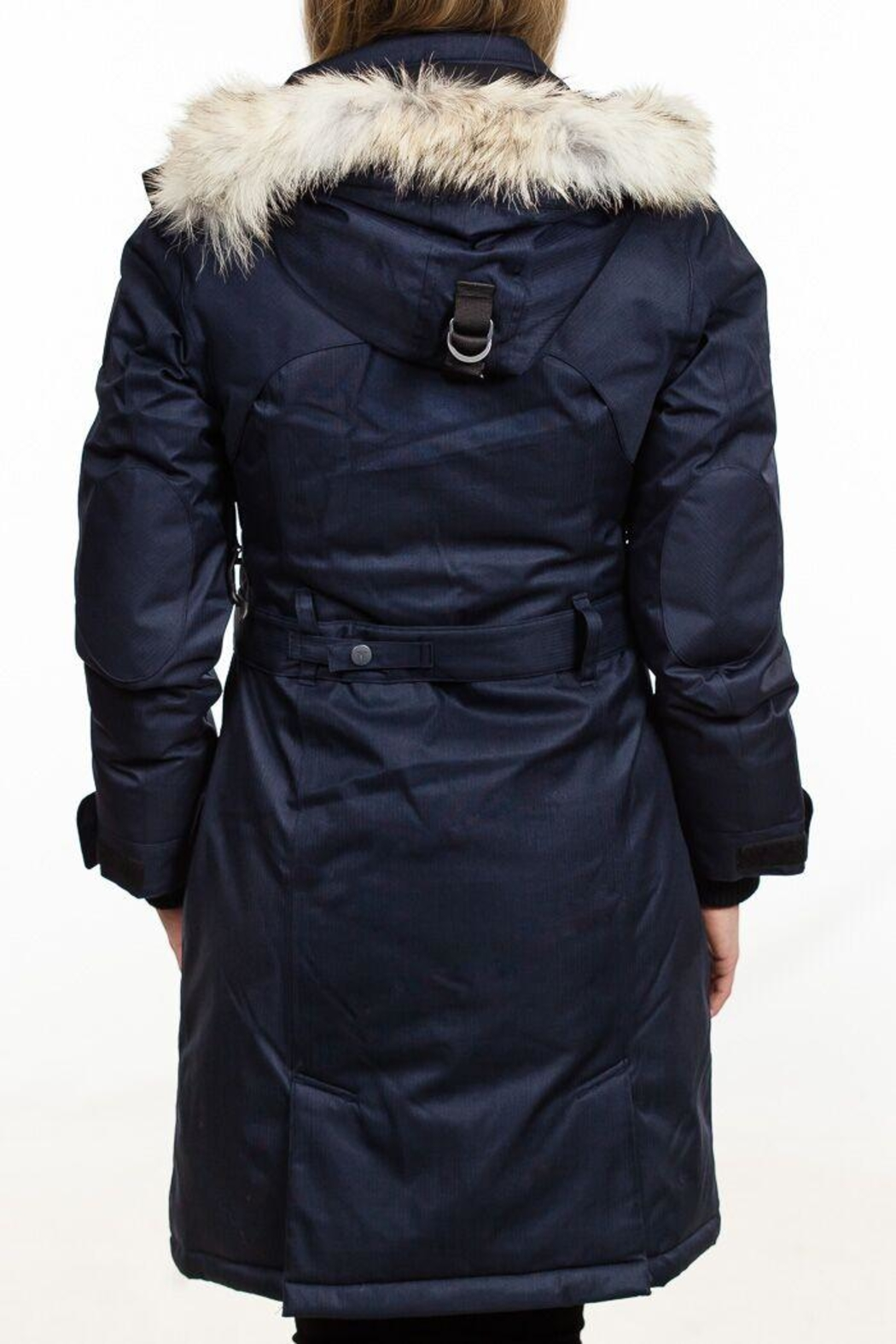 Nobis Tula Downfill Peacoat - Side Cropped Image