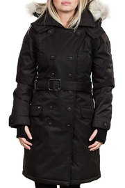 Nobis Tula Downfill Peacoat - Front cropped