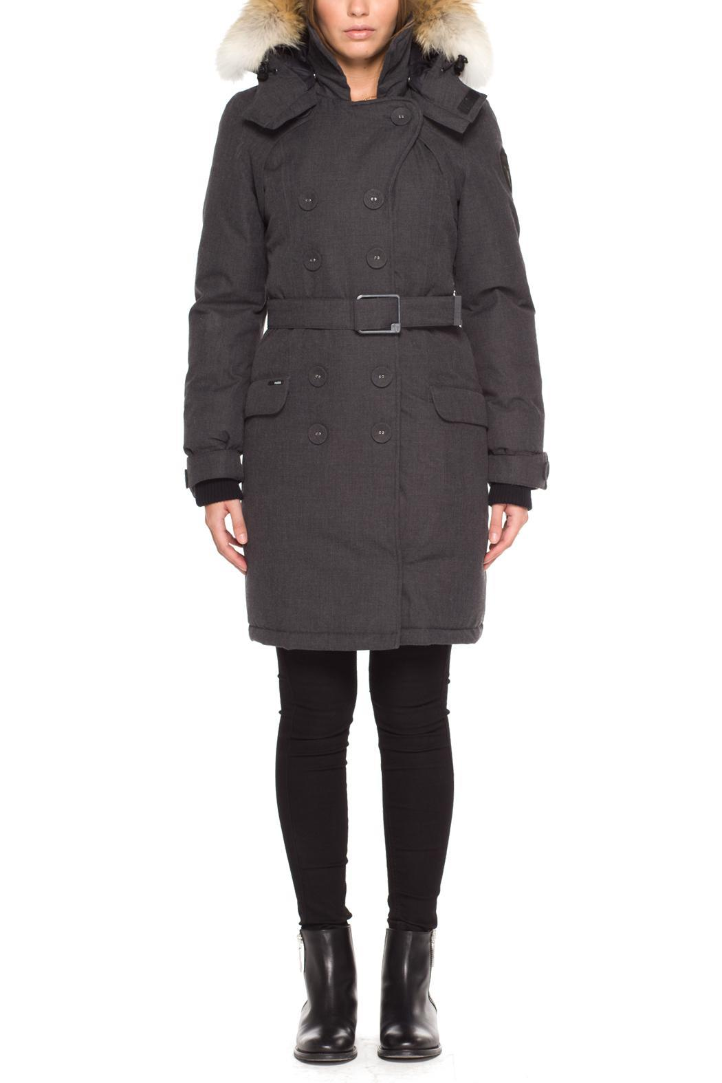 045a4eb7439a4 Nobis Tula Wool Peacoat from Montreal by Boutique TAG — Shoptiques
