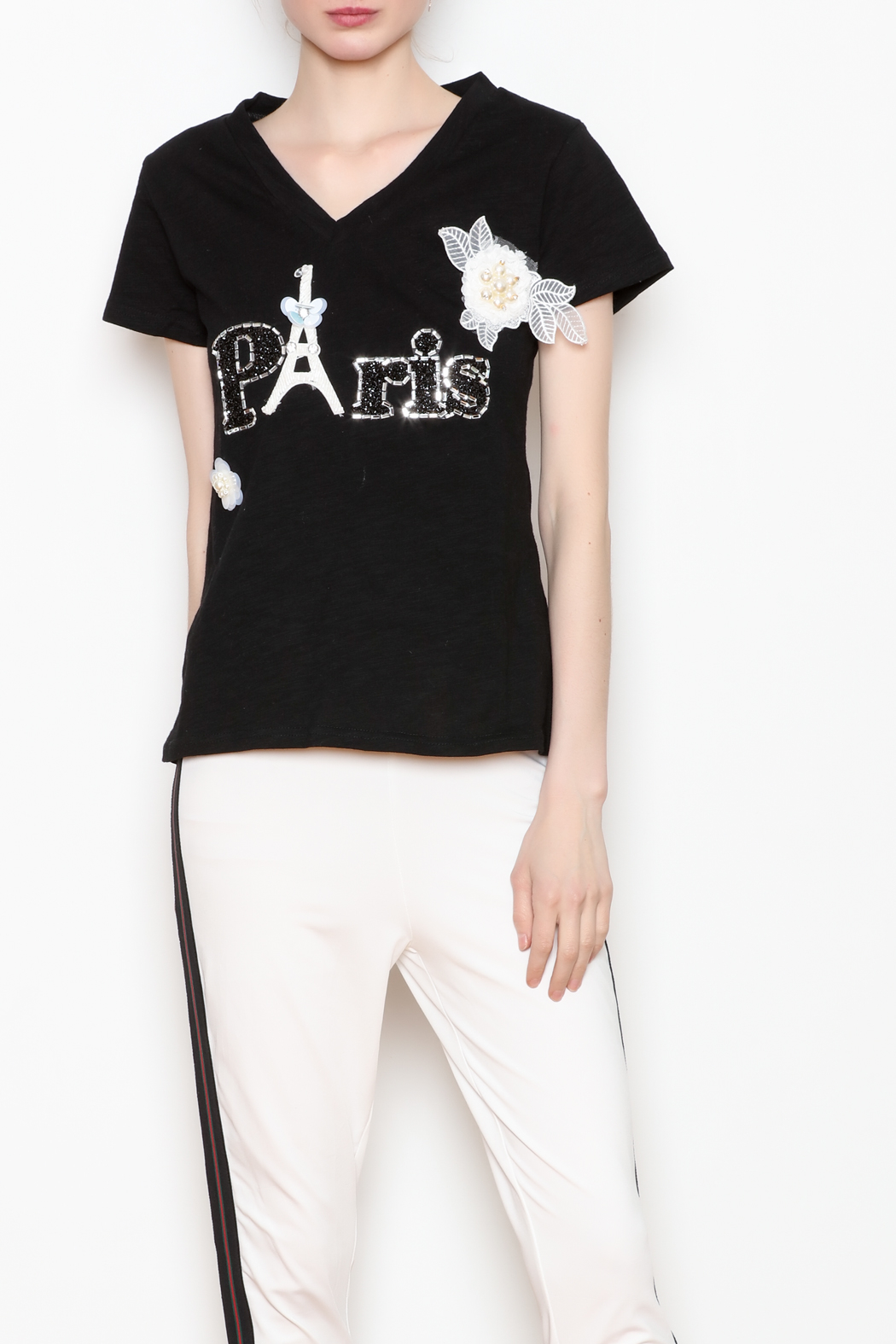 Noble  Paris Tee - Front Cropped Image