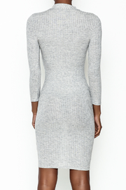 Noble U Bodycon Mock Neck Dress - Back cropped