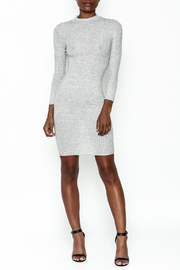 Noble U Bodycon Mock Neck Dress - Side cropped