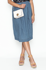 Noble U Chambray Skirt - Product Mini Image