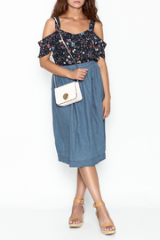 Noble U Chambray Skirt - Side cropped