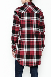 Noble U Plaid Flannel Shirt - Back cropped
