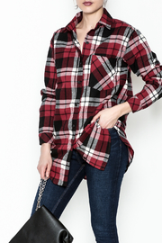 Noble U Plaid Flannel Shirt - Front cropped