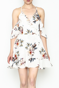 Noble U Ruffle Floral Dress - Product List Image