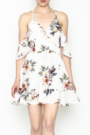 Noble U Ruffle Floral Dress - Product Mini Image