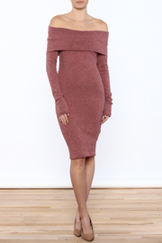 Noble U Sweater Dress - Product Mini Image