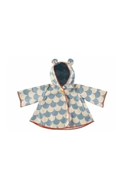 Nobodinoz Blue Scales Raincoat - Product Mini Image