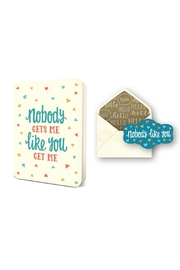 Studio oh! Nobody Gets Me Greeting Card - Product Mini Image