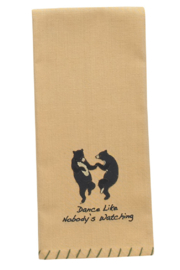 Park Designs Nobody's Watching Dish Towel - Product Mini Image